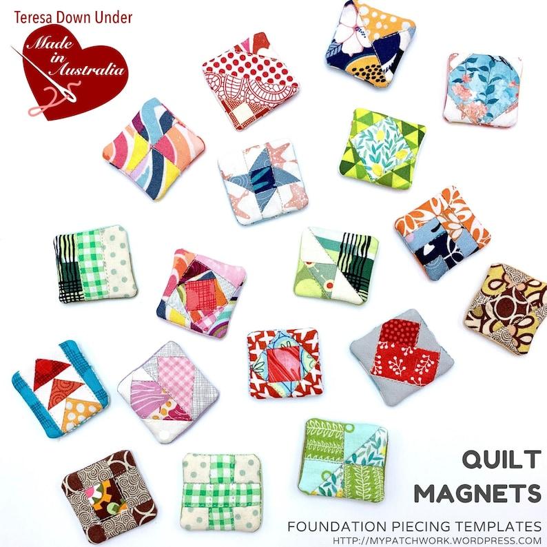 Quilt magnet templates image 0