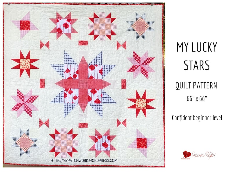 My lucky stars quilt pattern image 0