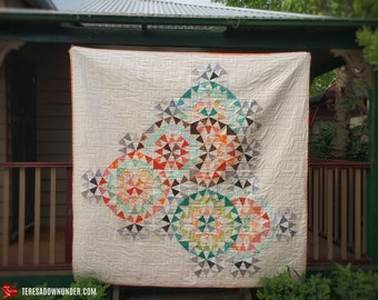 A cog in the wheel quilt pattern - PDF download