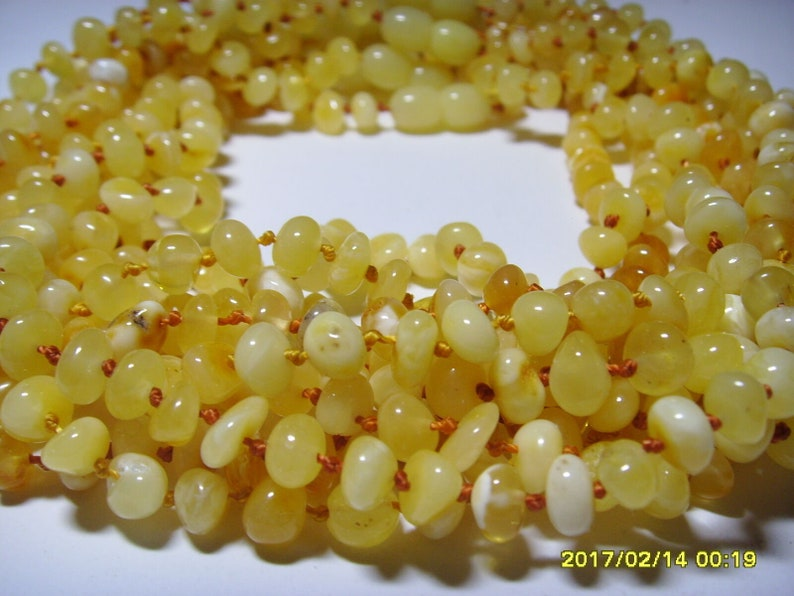Baltic amber teething baby necklaces 10 unit