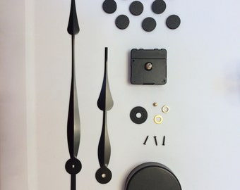 Large Wall Clock Kit- Choose your hand length