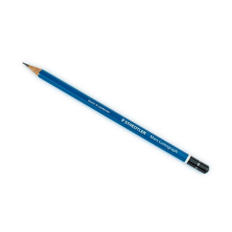 9B STAEDTLER Bleistift  Mars Lumograph Härtegrad