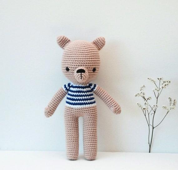 Amigurumi Häkeln Bär Freund Der Pica Pau Muster Teddybär Etsy