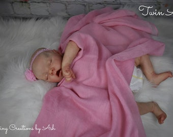 Reborn Baby, Twin A by Bonnie Brown, Custom Order