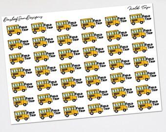 Field Trip    Planner Stickers