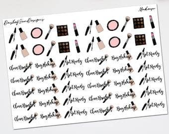 Makeup   Planner Stickers