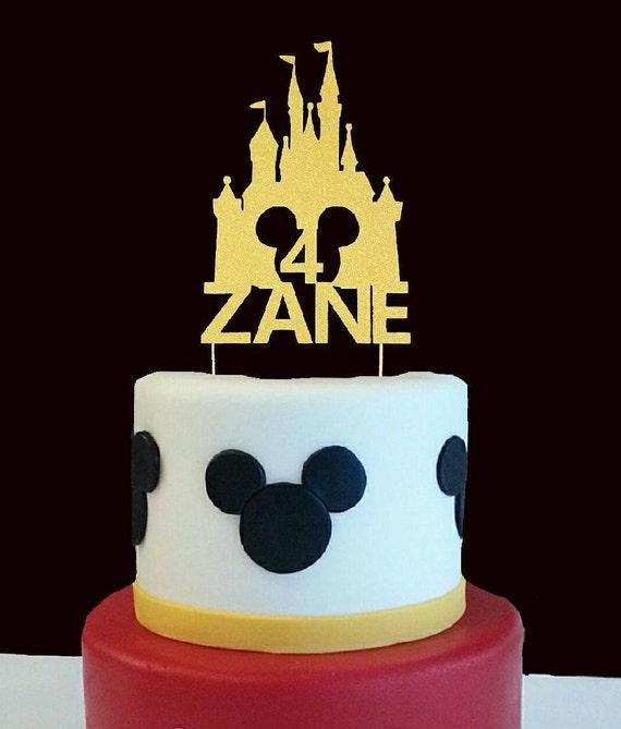 Custom Name And Any Single Digit Number Birthday Cake Etsy
