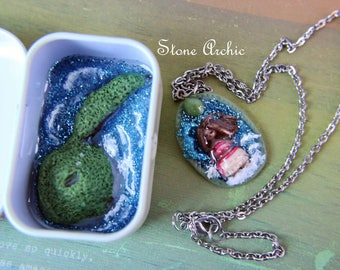Mohana inspired necklace and tin set