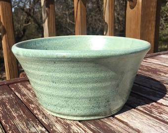Seafoam Green Bowl