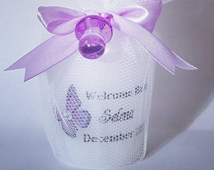 Baby Shower Favours  Candle Favours Gender reveal Welcome Candle Personalised