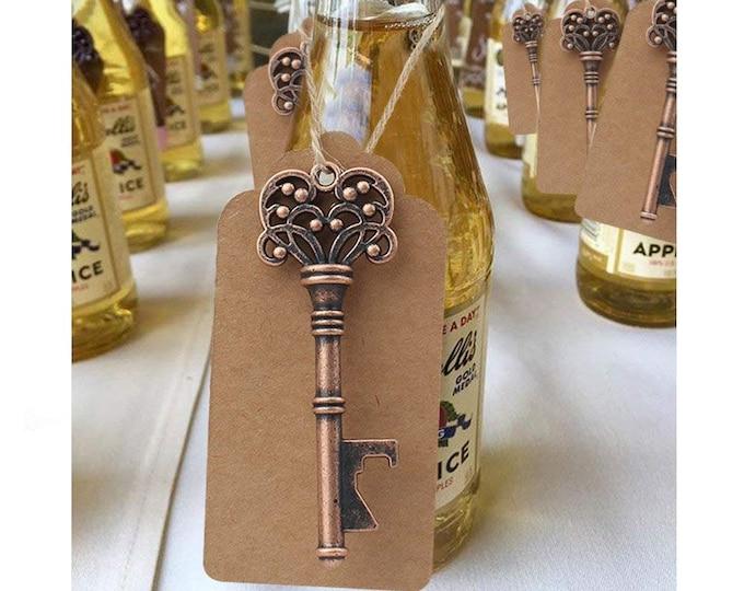 Mens Groomsmen Wedding Favours Bottle Opener Skeleton Key Rustic Favours Wedding Ideas
