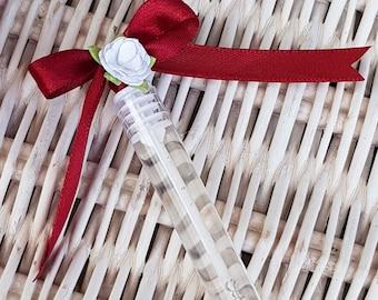 20 Wedding bubble wand favours Party favours