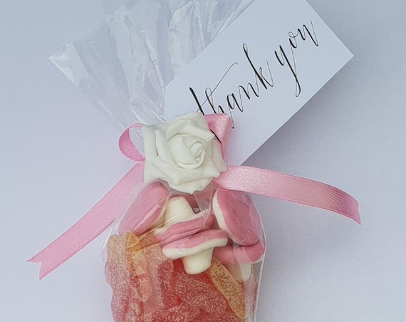 10 Sweet Cones Party Favours Baby Shower Sweet 16 Hen Party Thank You Favour