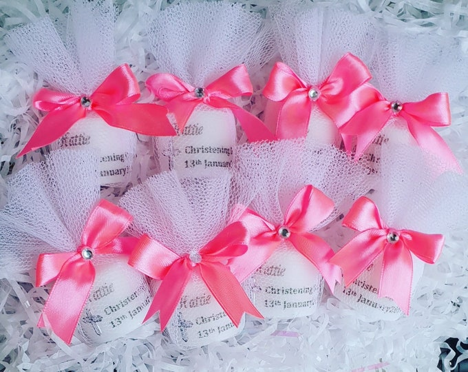 Christening Candles Baptism Favours Personalised Candles Religious Candles