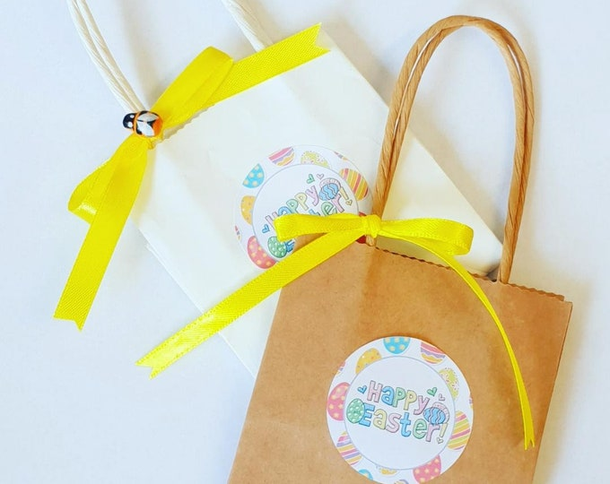 Easter Bags Mini Party Bags Easter Eggs Gift Treat Bags Easter Favours