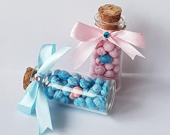 10 x One in a Million Sweet Favours Mini Glass Bottle Party Favours Baby Shower Weddings Hen