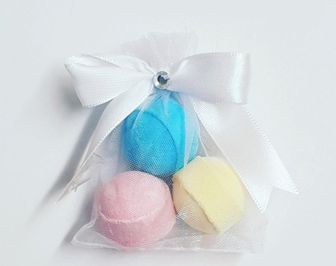 Scented Bath Bomb Favours Bath Fizzers Baby Shower Bridal Shower Party Favours Slumber Party Spa