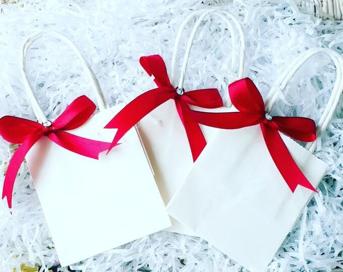 Mini Favour Bags  Wedding Baby shower bags Gift bag Bridal Shower Favours 99p each