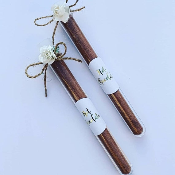 Hot Chocolate Shots Favours Lockdown Treat Thank You Cheer Up Gift Wedding Bridal Shower Party (Qty 1)