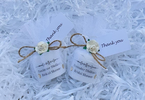 Bridal Shower Personalised Candle Keepsake Bride to Be Hen Party (qty 1)