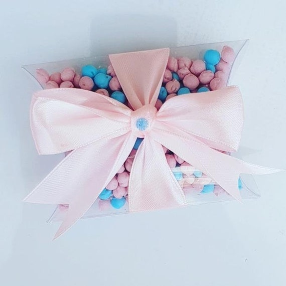 Gender Reveal Favours Pillow Box filled with Millions Baby Shower Unisex