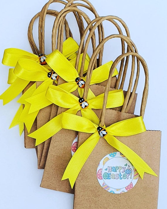 Easter Bags Mini Party Favours Eggs Gift Treat Bags (Qty 1)