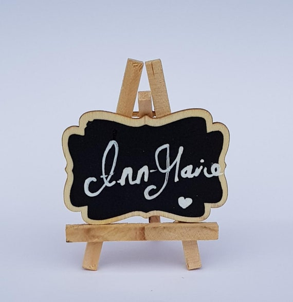 Chalk Board Black Easels Wedding Table Seating Plan Name Setting (Qty 1)