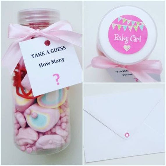 Prefilled Milk Bottle Candy Favours Baby Shower Party Games Sweet (Qty 1)