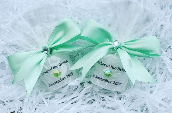 Mother of the Bride or Groom Personalised  Candle Favours Wedding Favours Keepsake (Qty 1)