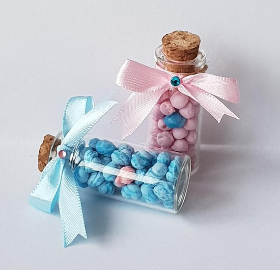 One in a Million Sweet Favours Mini Glass Bottle Party Favours Baby Shower Weddings Hen (Qty 10)