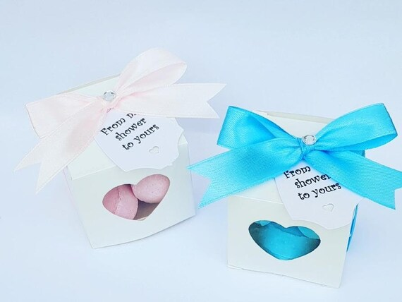 Baby Shower Favours Bath Bomb Fizzes Gender Reveal My shower to Yours Favours Hen Party Bridal Shower (Qty 1)