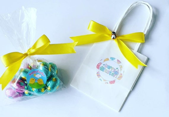 Easter Egg Favours Mini Eggs in Bag Chocolate Creme Egg Gift Party Teacher Gift (Qty 1)