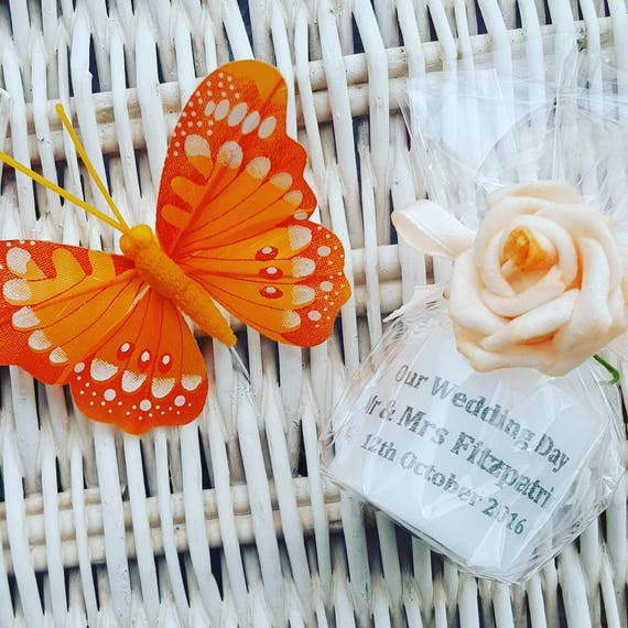 Wedding  Favours Personalised Candle Keepsakes (Qty 1)