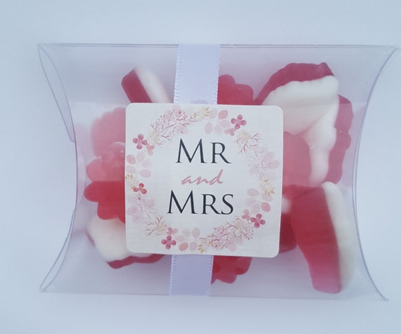 Wedding Sweet Favours Pillow Box (Qty 1)