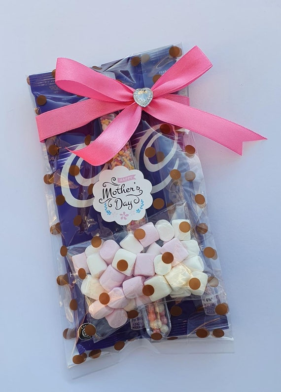 Mothers Day Hot Chocolate Gift Favour Choc Lover Marshmallows  Treat (Qty 1)