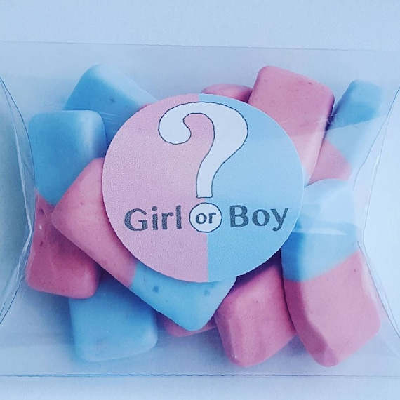 Baby Shower Favours Gender Reveal Candy favours Sweet Favours Prefilled Favours