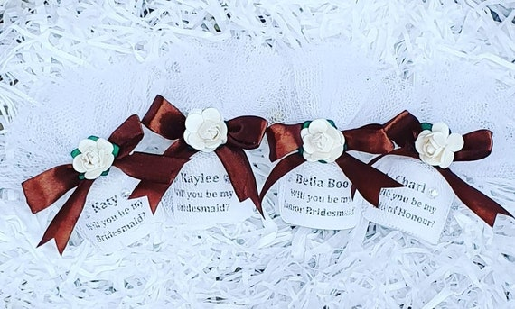 Bridesmaid Proposal Personalised Candle Favours Keepsake Wedding (Qty 1)