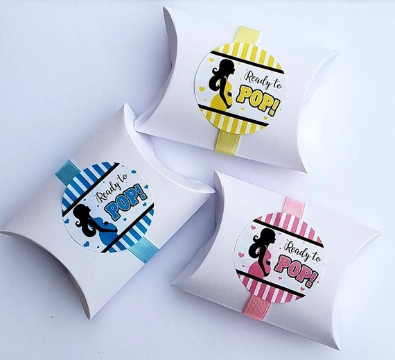 Baby Shower Favours Pillow Box Gender Reaveal  Gify Box (Qty 1)