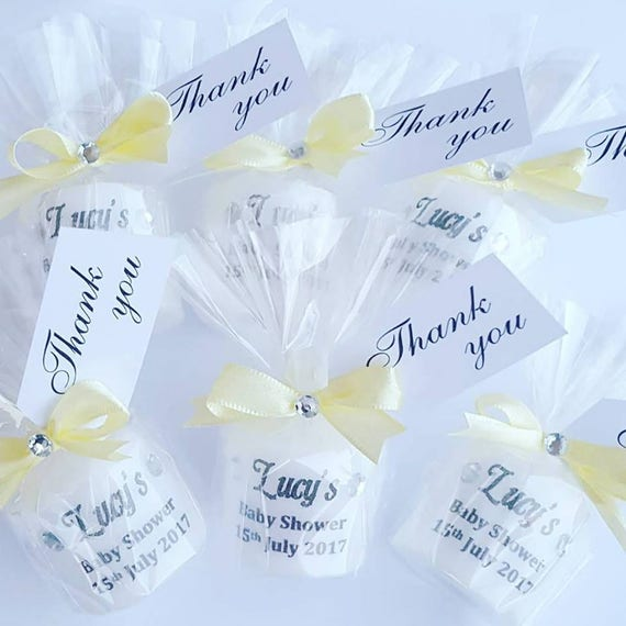 Baby shower Favours Personalised Candle Favours Gender reveal