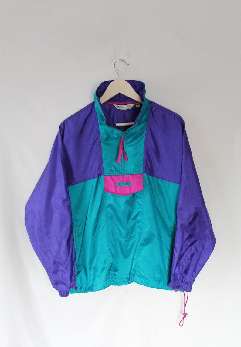 Teal Columbia Sportwear Cazadora PúrpuraEtsy Rosa Años 90 0kOw8nP
