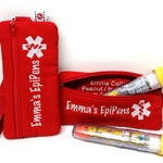 EpiPen Case - Custom Insulated Medicine Case for EpiPens or AuviQ Epinephrine Autoinjectors by Alert Wear Wristlet, Clip On or Waist Pack