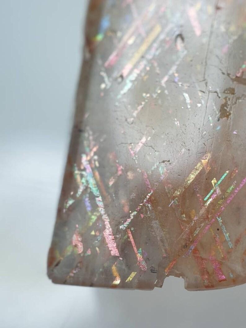 Rainbow Lattice Sunstone specimen 18.5x12.5x6mm M1249