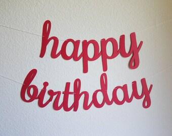 happy birthday banner etsy