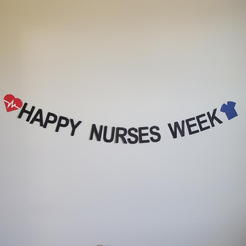 Medical Banner Nurses Week Banner Custom Nurse Banner Happy Nurses Week Custom Medical Banner Doctor Banner Nurses Week