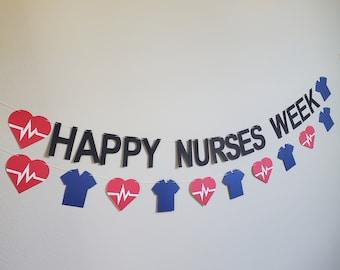 Nurses Week, Nurses Week Banner, Happy Nurses Week, Custom Medical Banner, Medical Banner, Custom Nurse Banner, Doctor Banner