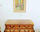 CHEST of DRAWERS COMMODE French Empire 18th Century quot Le Bien Aime 39 d 39 Ussac quot