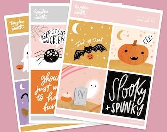 Spooky Mini Prints 2020