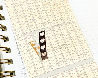 Checklist Stickers, To Do Stickers, Planner Stickers, Foil Stickers, Foiled Stickers, Sheet of 30 Stickers