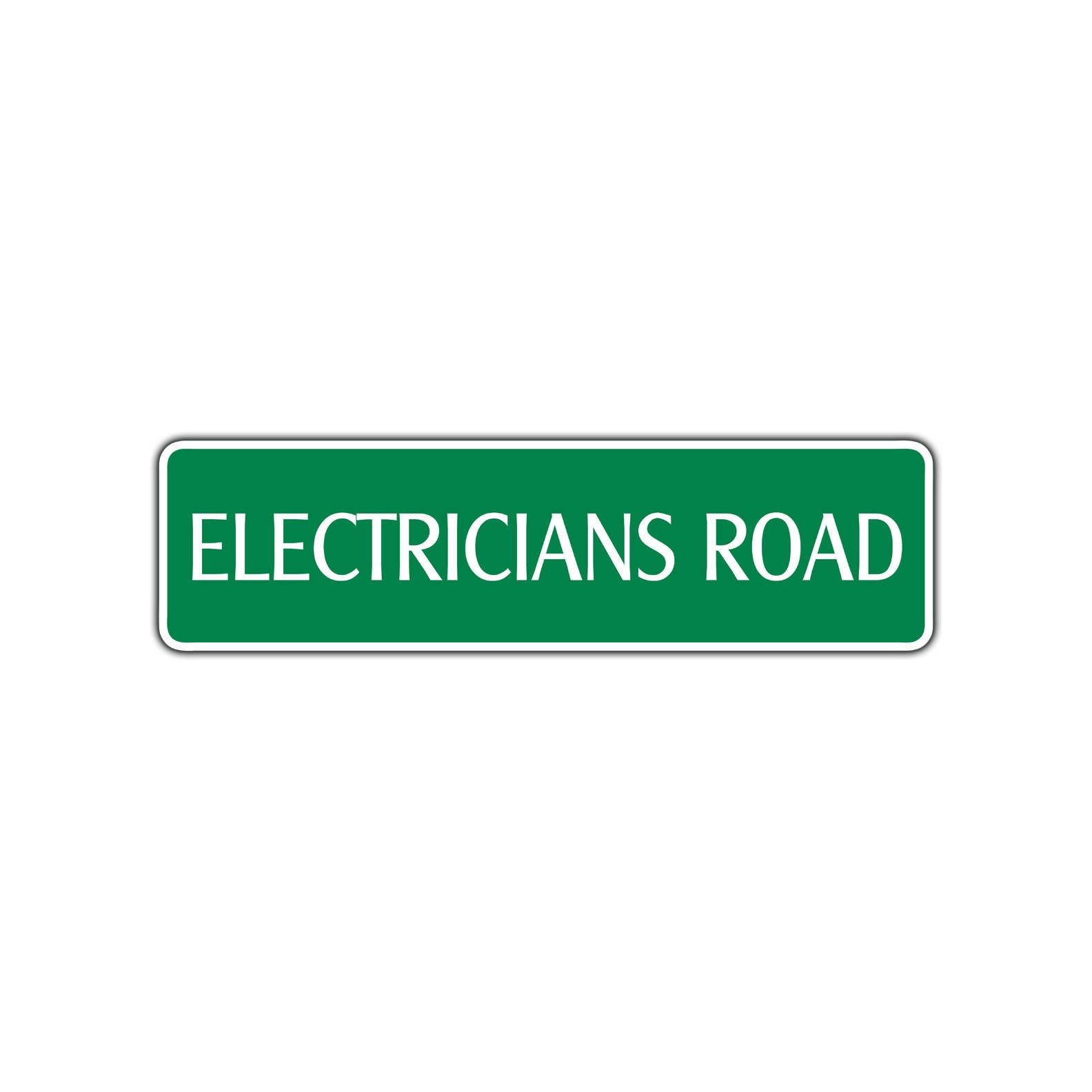 Electricians Road Street Sign Electric Patch Panel Breaker Box Etsy Fuse 50