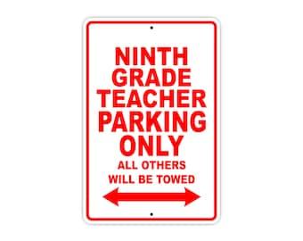 Ninth Grade Teacher
